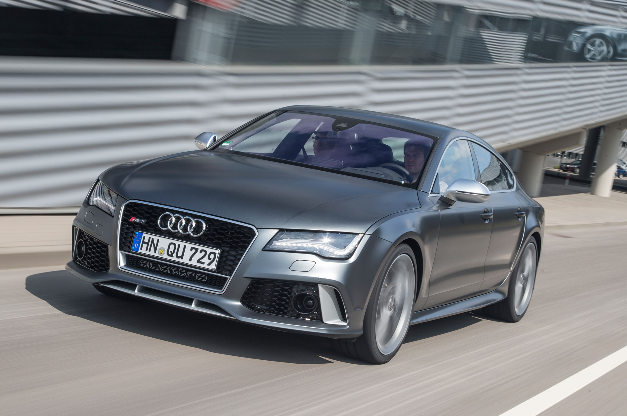 2014 audi rs 7 first drive - motortrend
