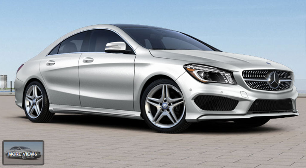 Build It: 2014 Mercedes-Benz CLA250 Configurator Goes Live