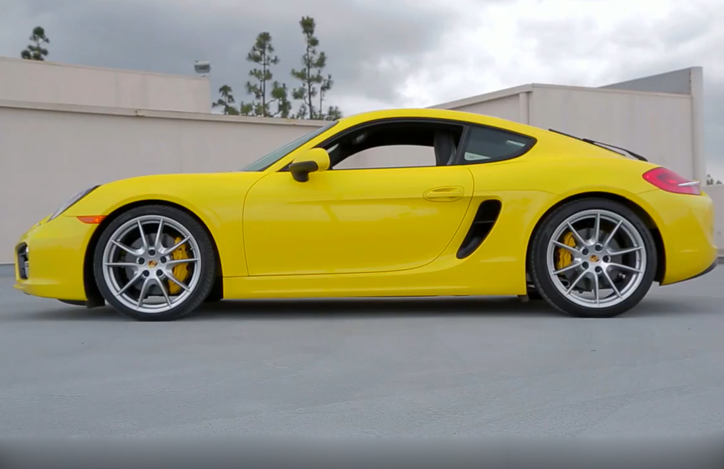 Testing the 2014 Porsche Cayman S on Ignition (W/Video)