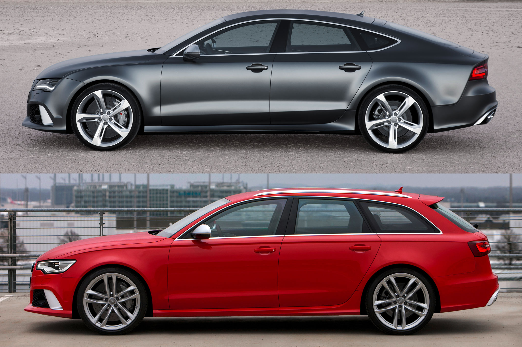 TOTD: Pick One - Audi RS 7 Hatch or RS 6 Wagon? - Motor Trend