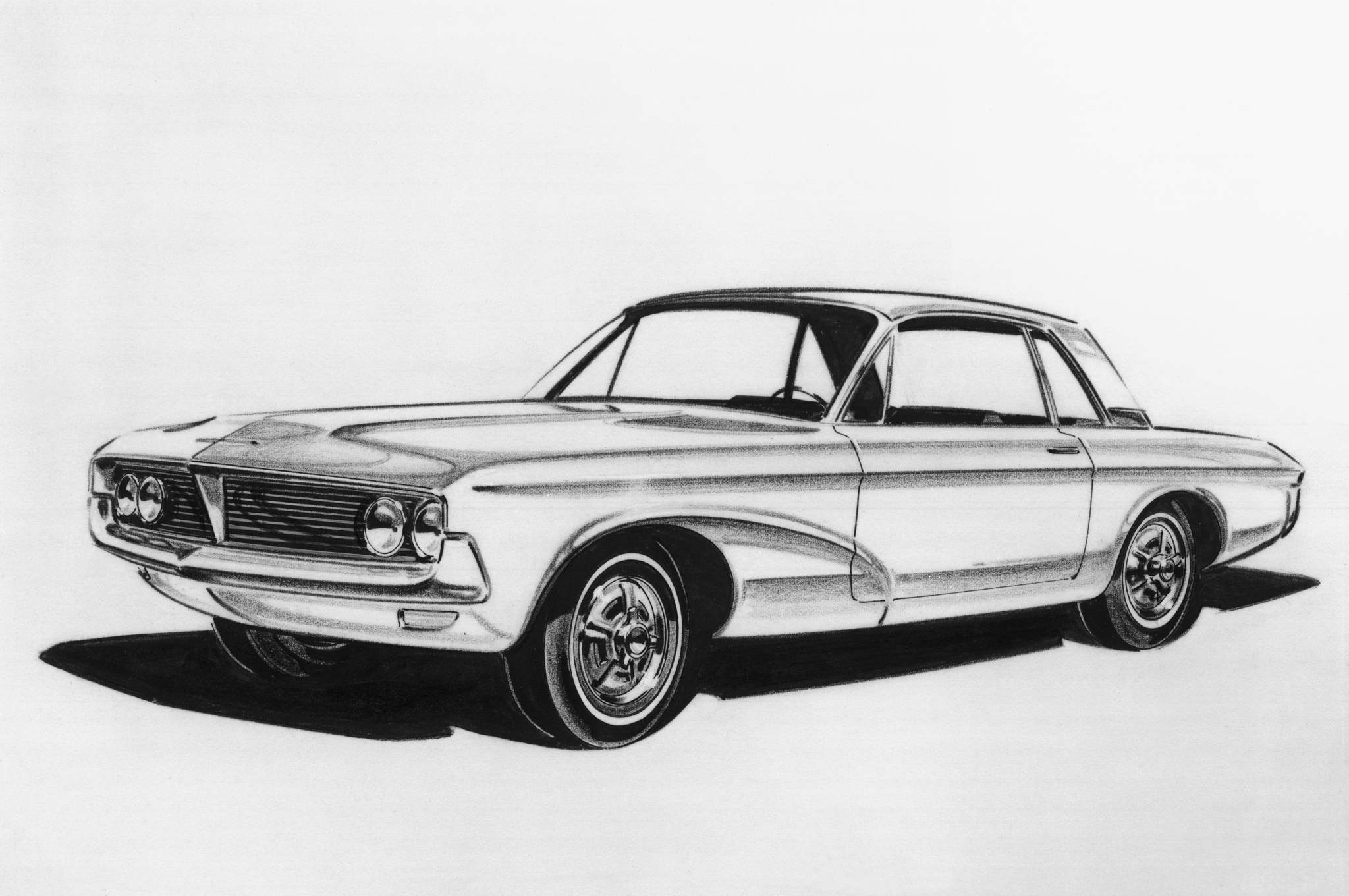 1965 Ford Mustang From Sketch To Production W Video Motor Trend
