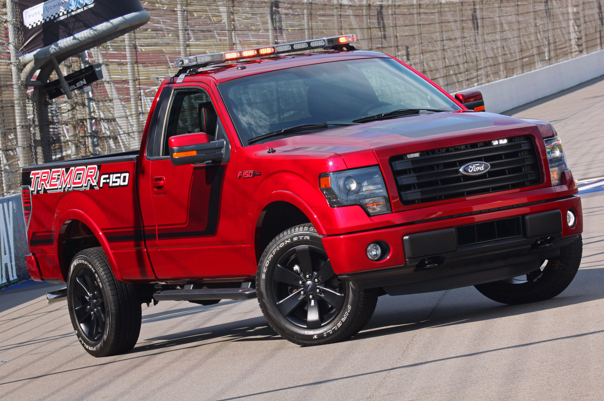 2014 Ford F 150 Tremor to Pace NASCAR Truck Race Motor Trend