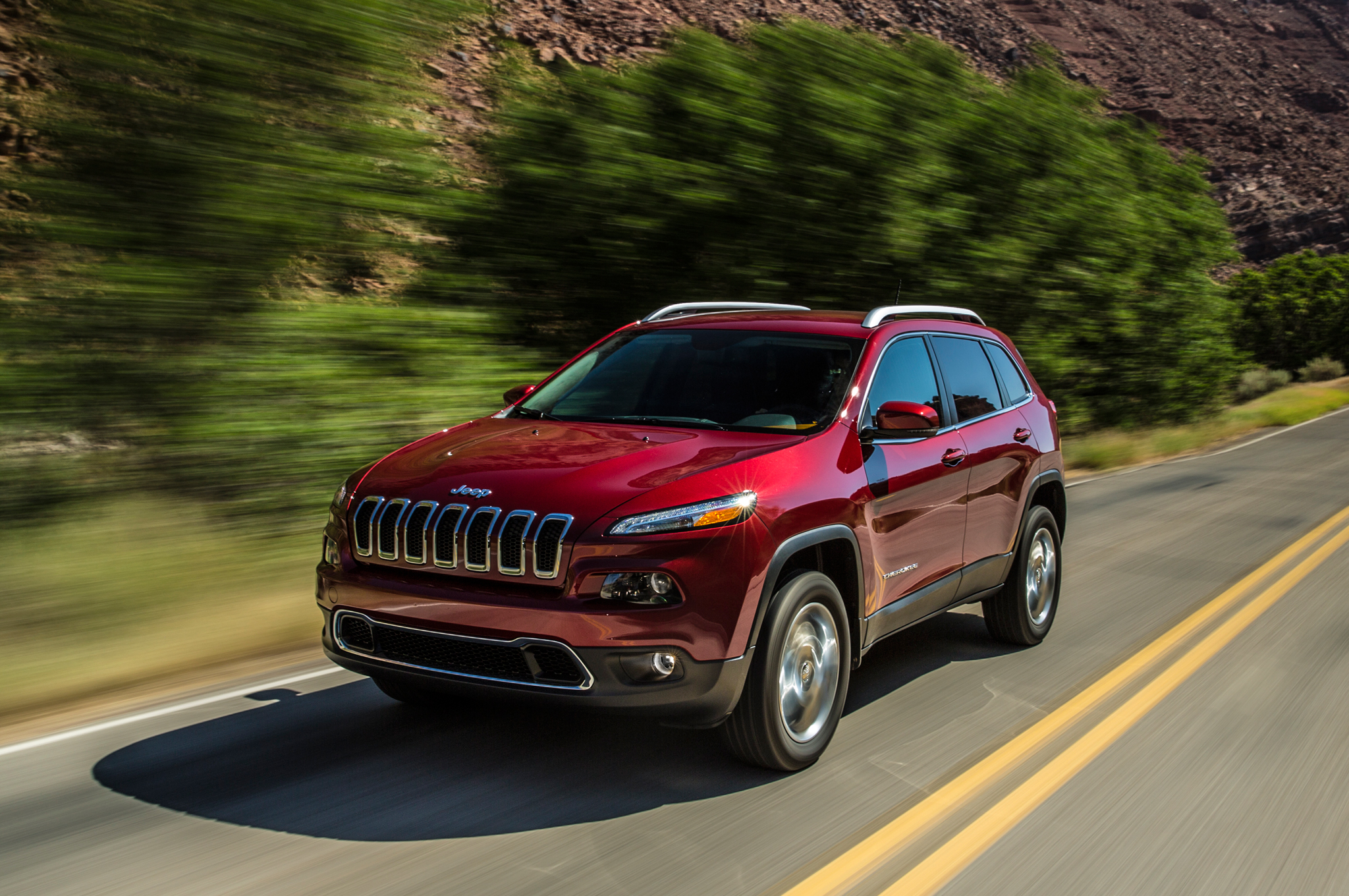 High Quality 2014 Jeep Cherokee First Drive