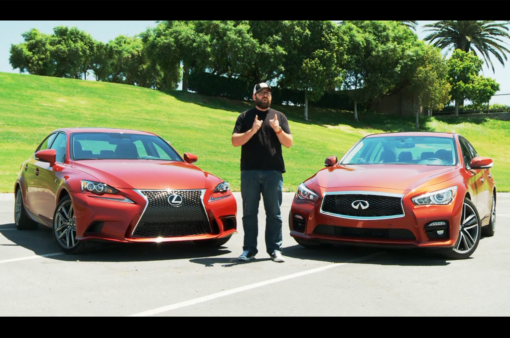Infiniti Q50 S Takes On Lexus IS 350 F Sport In New Head 2 Head