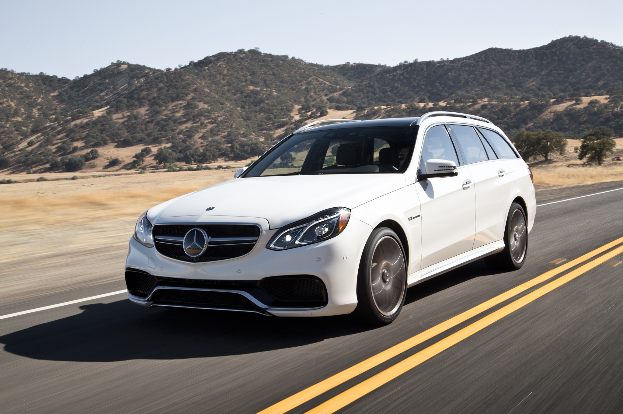 2014 Mercedes Benz E63 Amg S Model 4matic Wagon First Test Motor Trend
