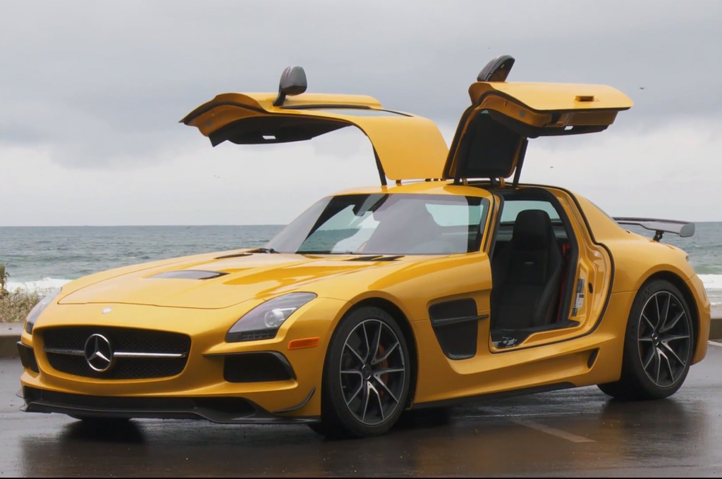 Epic Drive Video: Through Oregon In A Mercedes SLS AMG Black Series