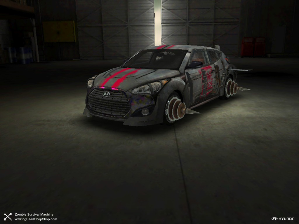 Hyundai Creates Zombie Walking Dead Chop Shop Configurator App W