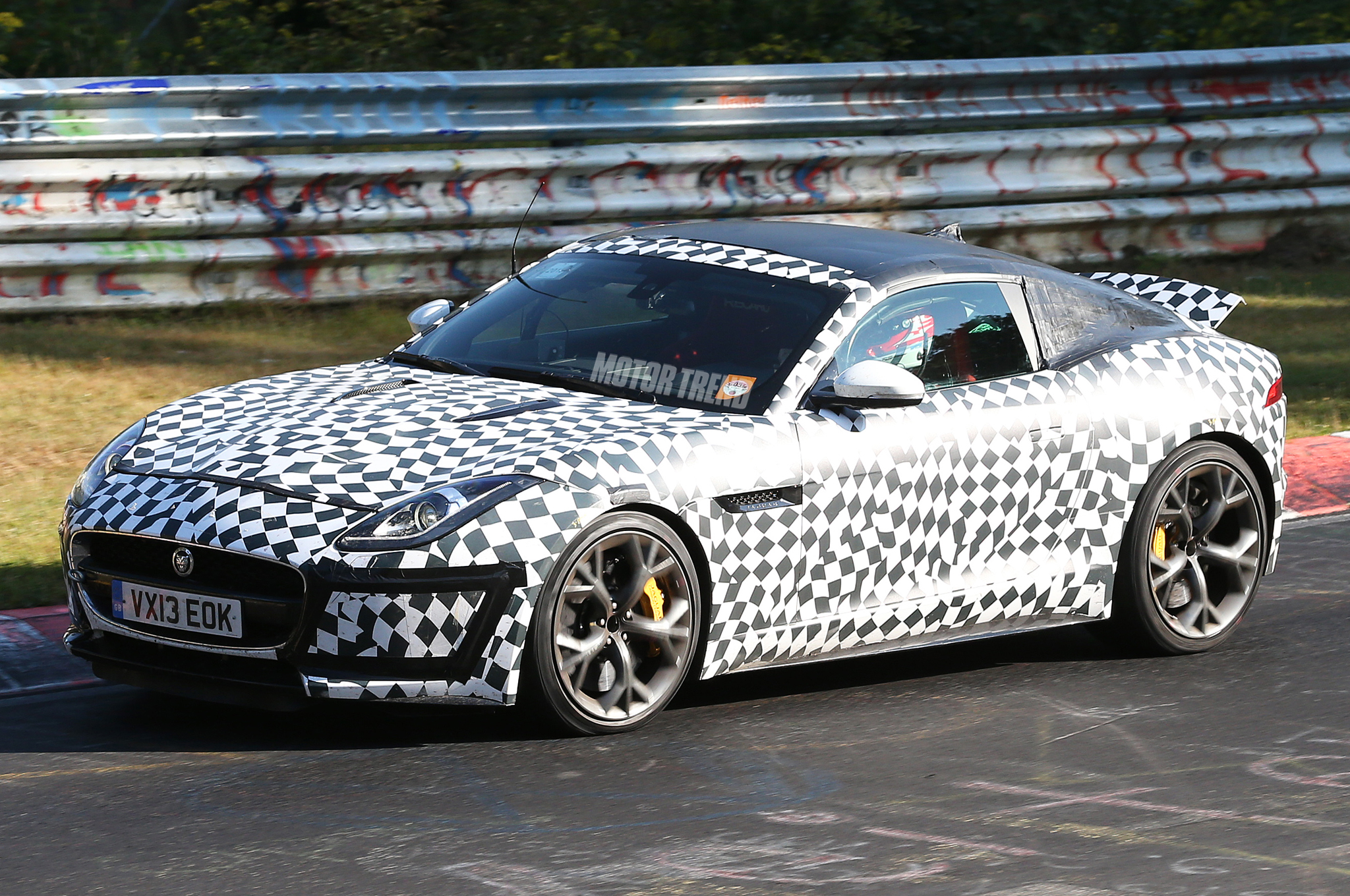 Spied! Jaguar F-Type Coupe With R-S Goodies