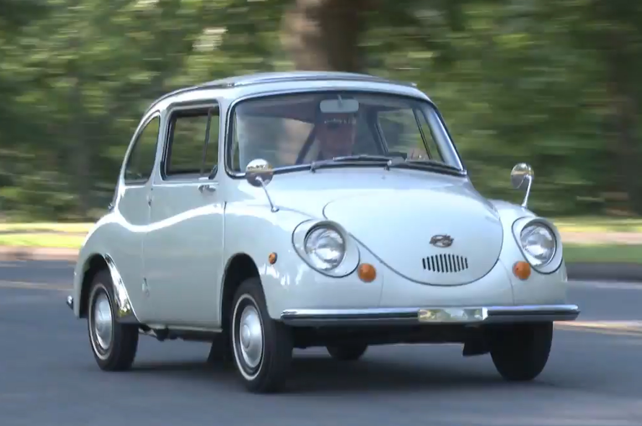 Cheap And Ugly Subaru Revisits 360 On Vintage Garage W Video