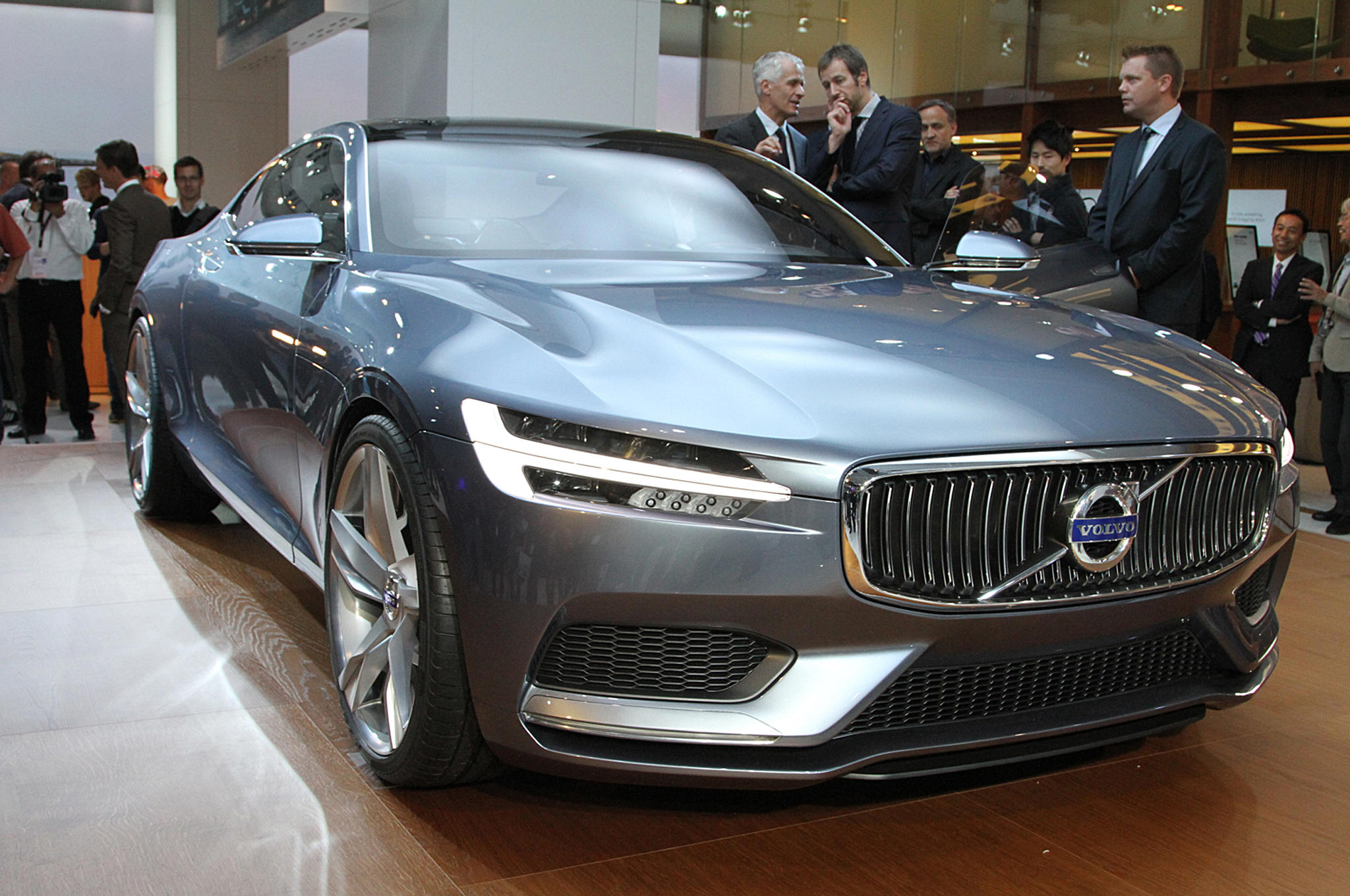 volvo concept coupe first look motortrend