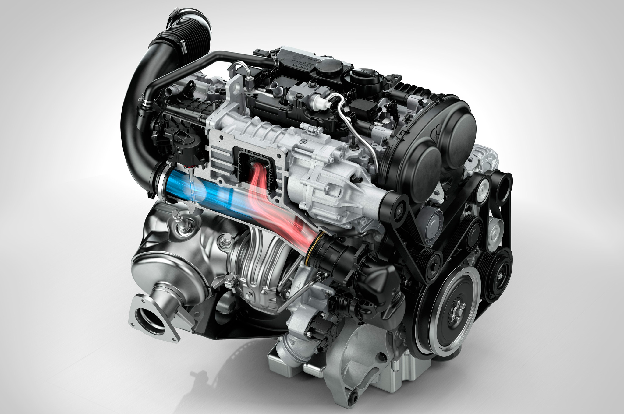 New Volvo Engine Family Includes 302-HP Twin-Charged I-4