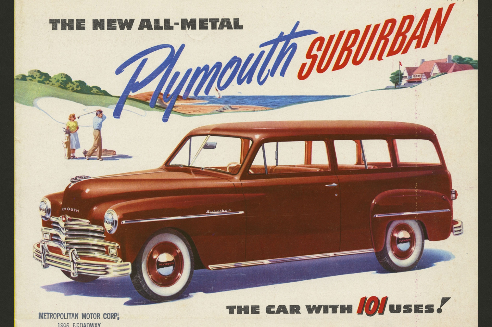Vintage Ads: The 1949 Plymouth Suburban and its 101 Uses - Motor Trend