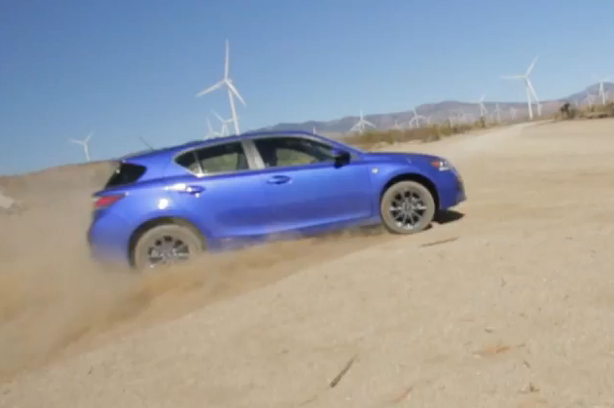 2013 Lexus CT F Sport Goes for Rally Style Shakedown W Video