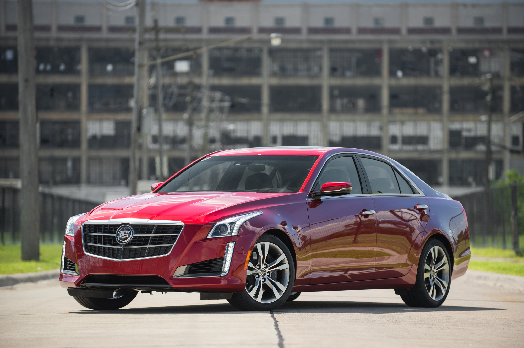 High Quality V For Volume: 2014 Cadillac CTS Vsport Boosts Engine Note