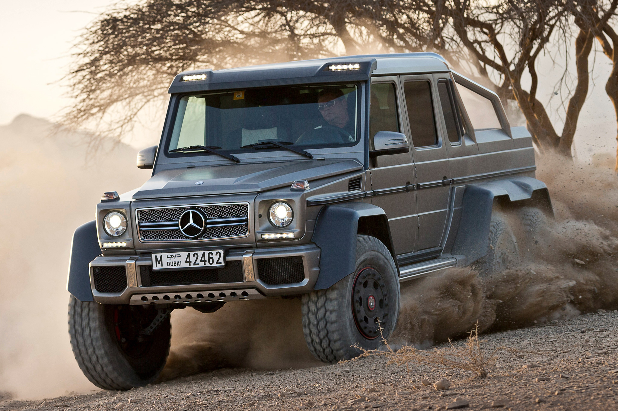 Mercedes Benz G63 Amg 6x6 To Cost 600 000 In Germany Motortrend