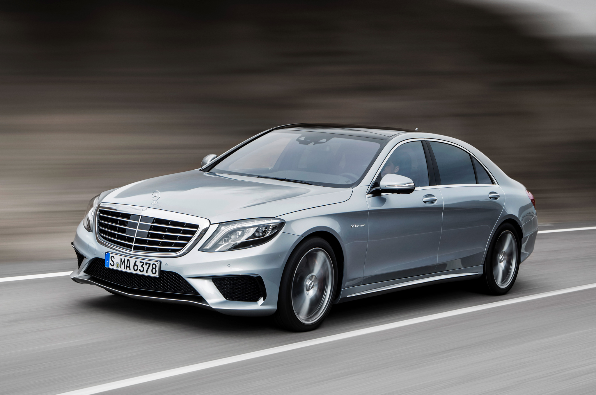 2014 Mercedes Benz S63 AMG S Model First Drive
