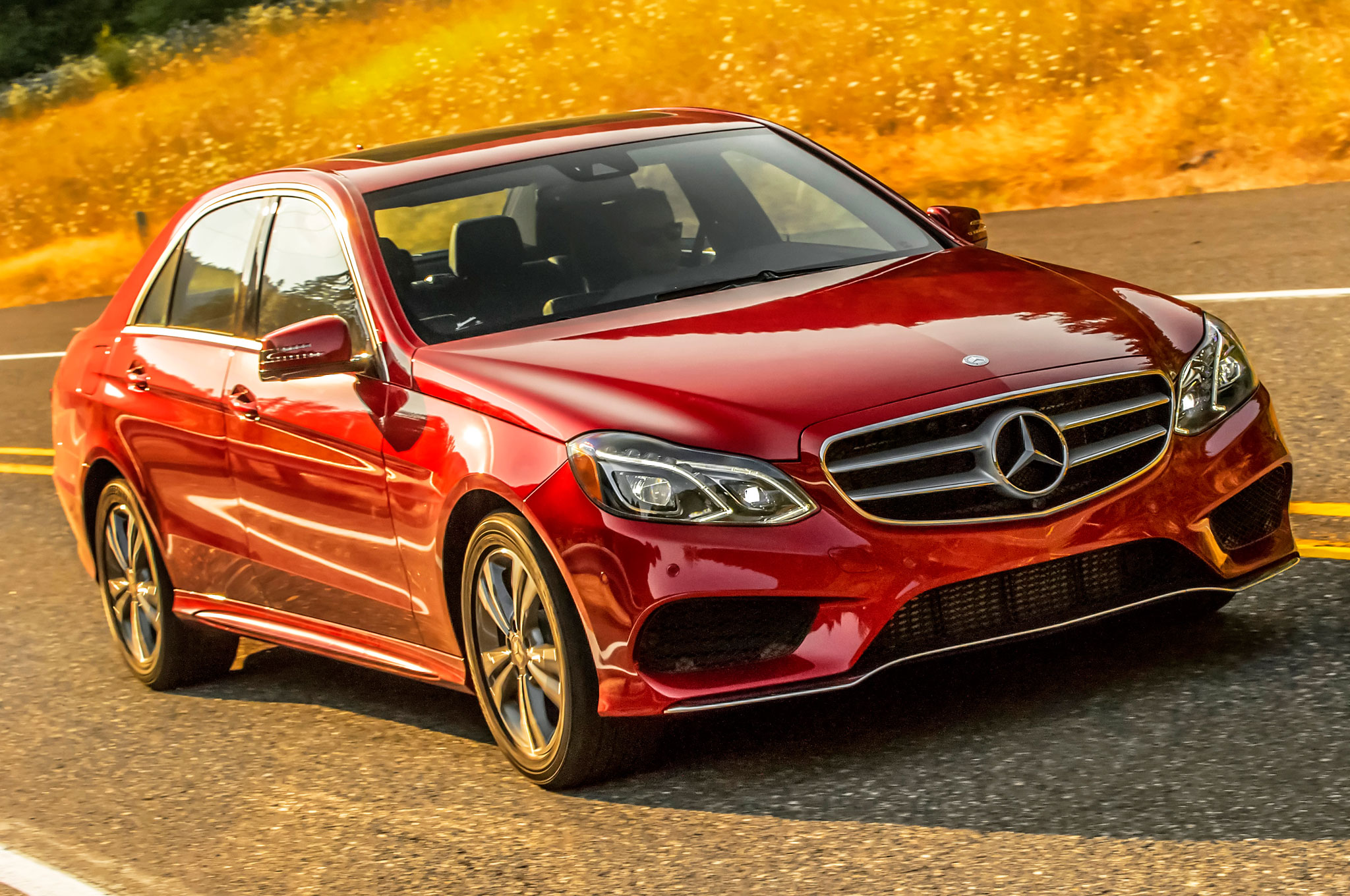 2014 Mercedes Benz E250 Bluetec Diesel Rated at 45 MPG Highway