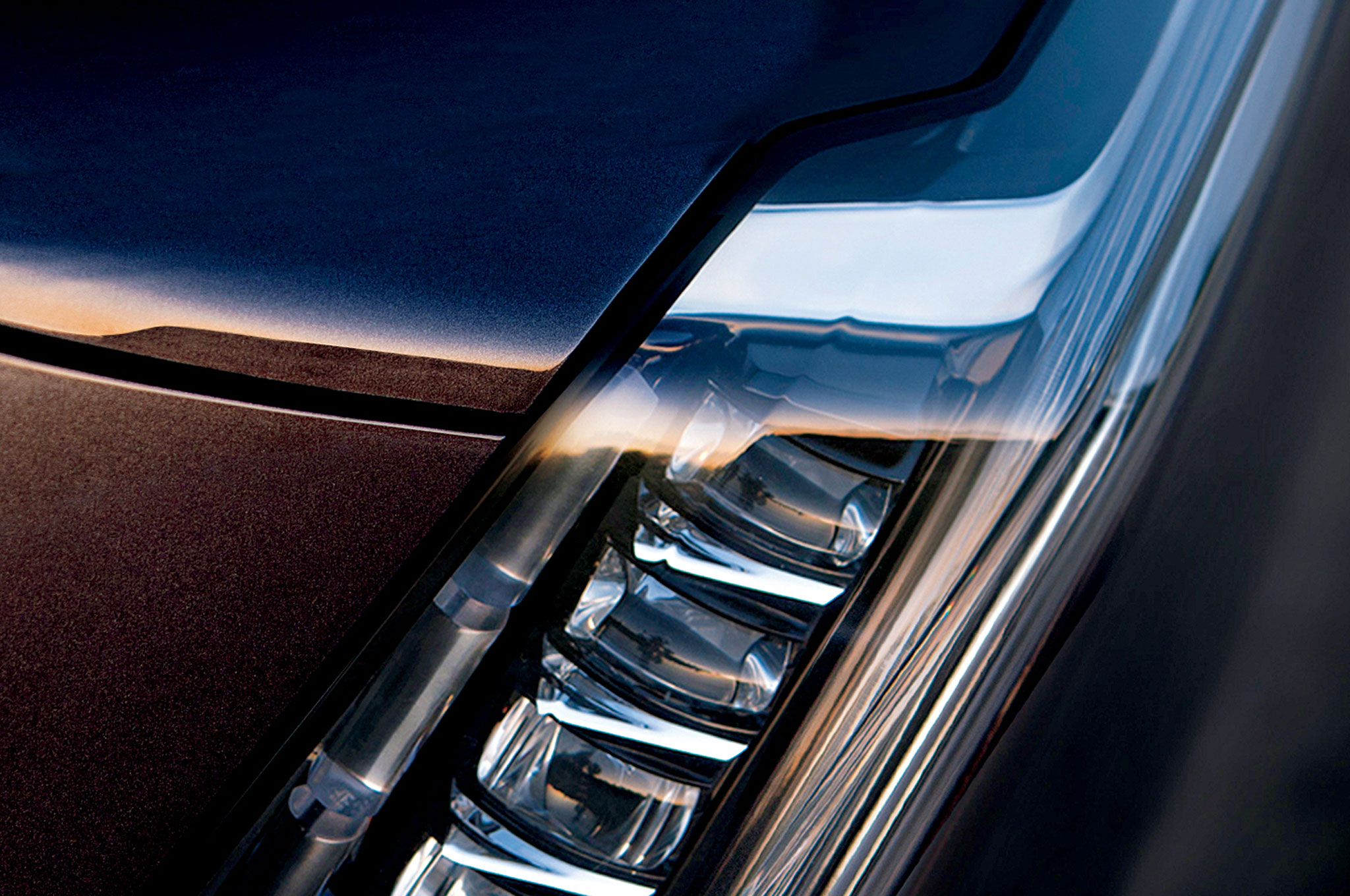 2015 Cadillac Escalade S Led Headlight Teased W Videos Motortrend