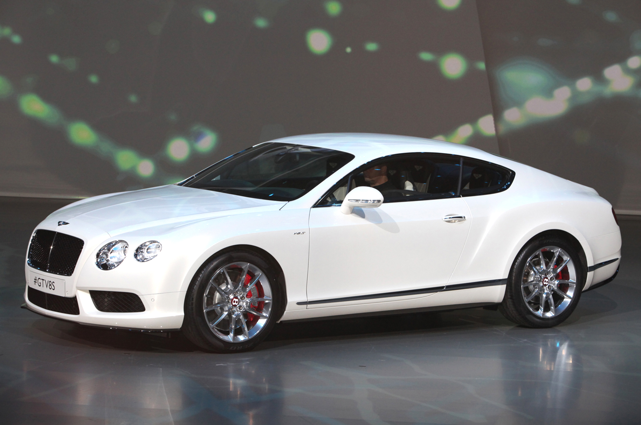 Bentley Continental GT V8 S Boasts 521 HP - 2013 Frankfurt - Motor Trend