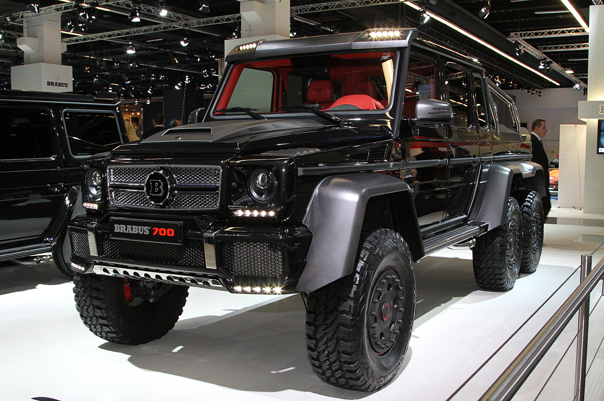Brabus B63S-700 6x6 is an Even Wilder Six-Wheel G-Wagen - Motor Trend