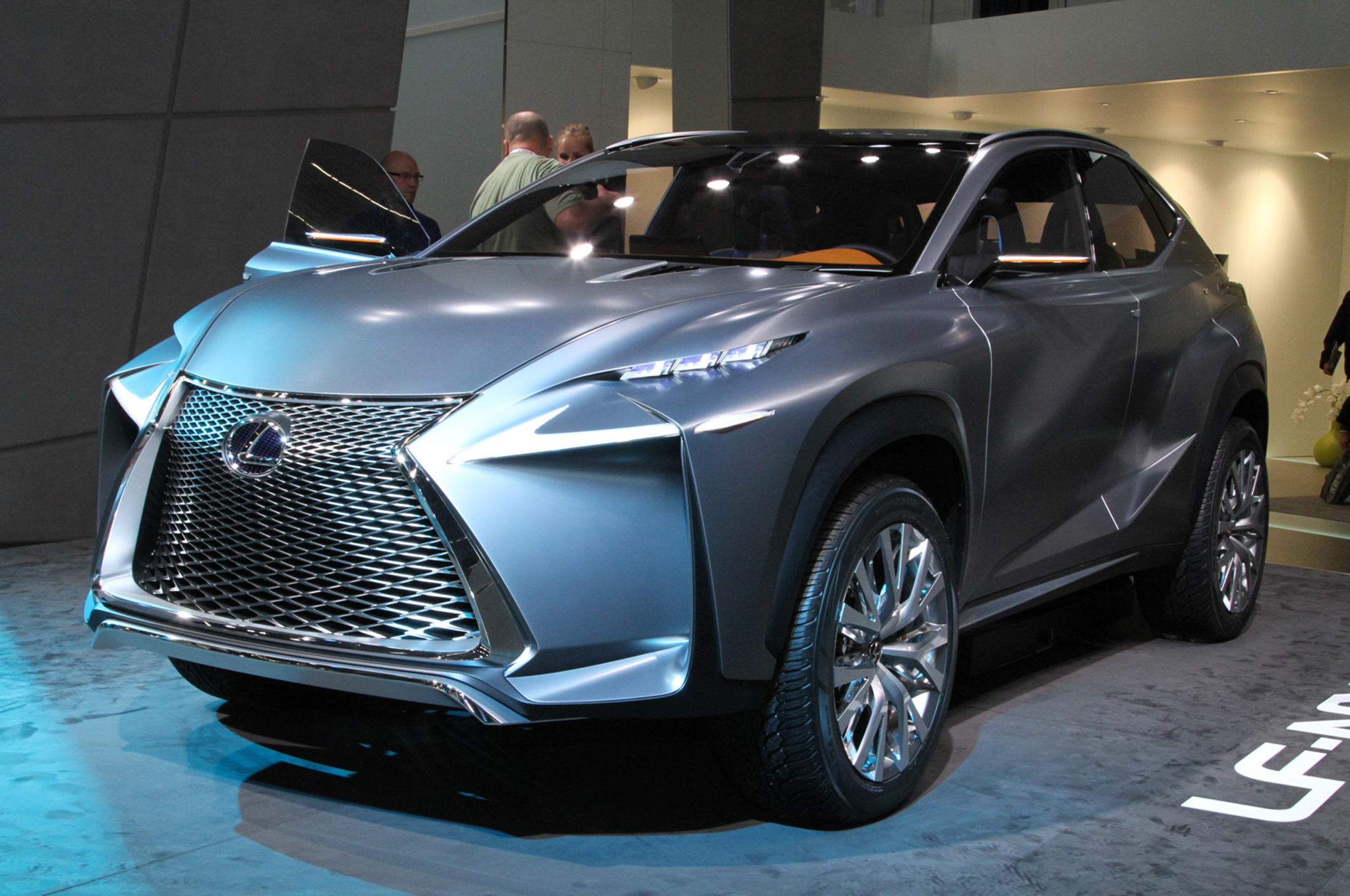 Marvelous Lexus LF NX Crossover Concept Revealed Before Frankfurt Show