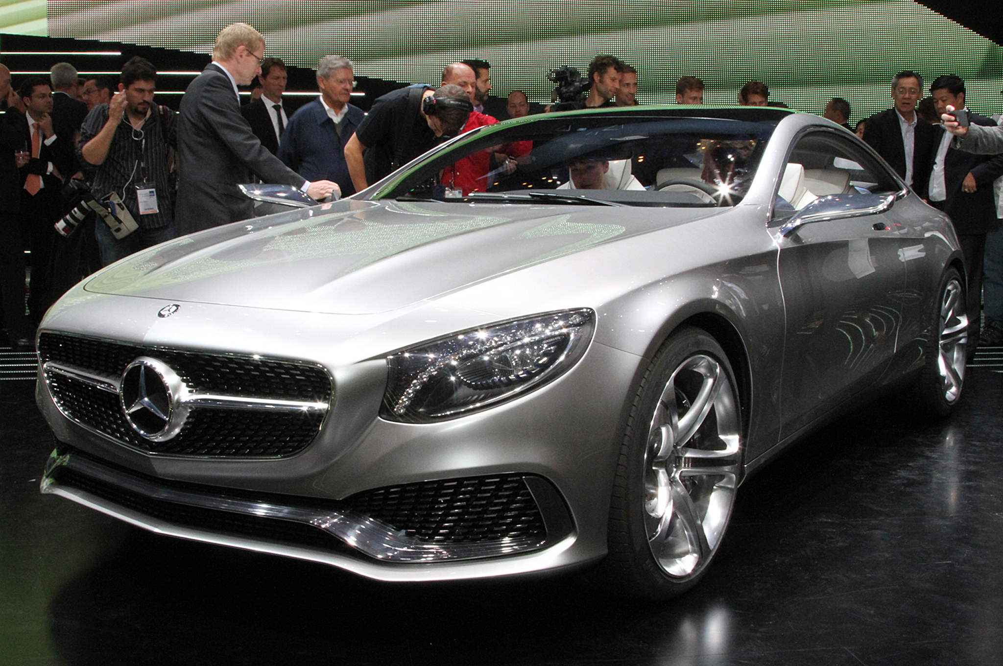 Mercedes-Benz S-Class Coupe Concept First Look
