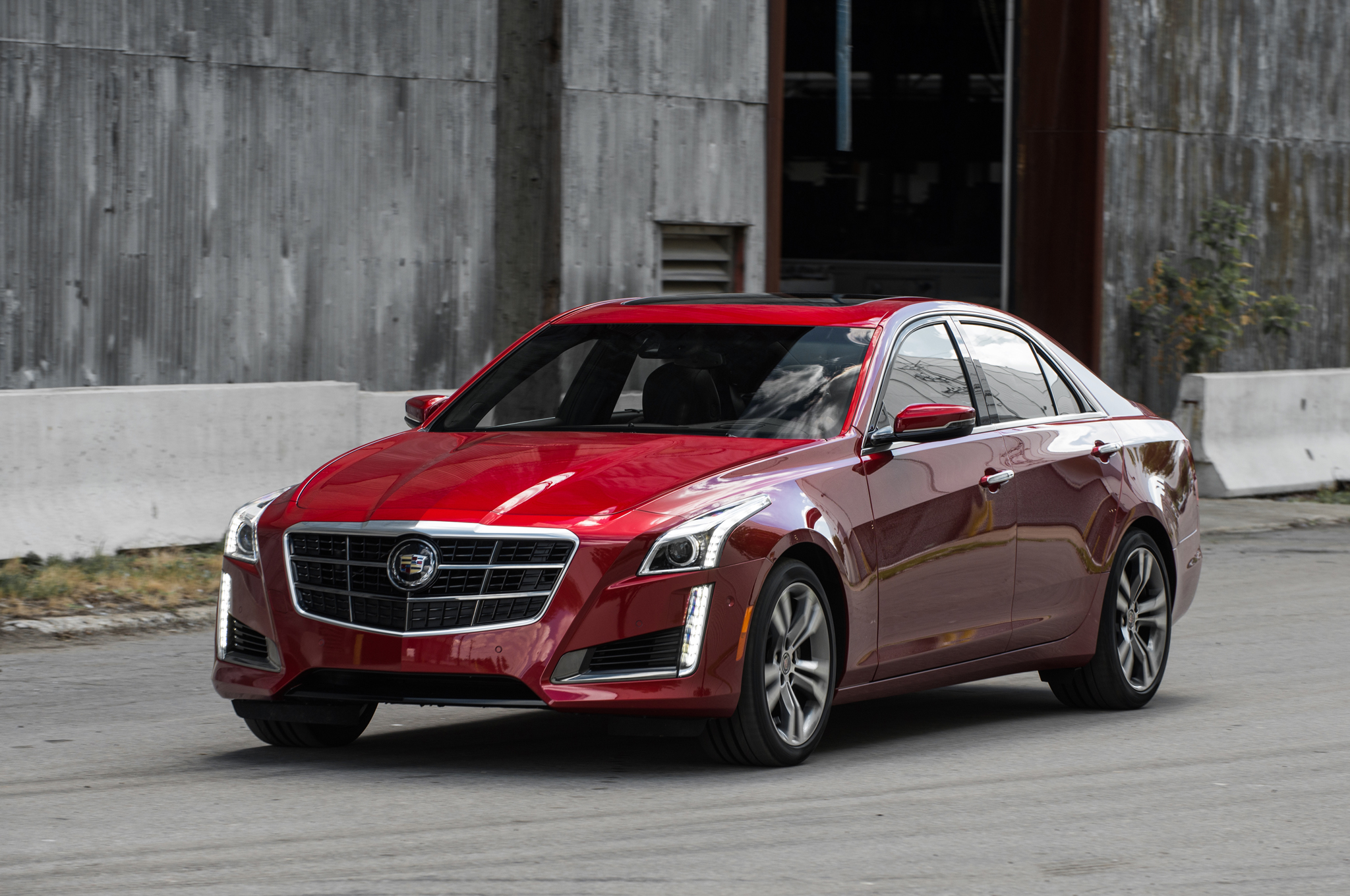 2014 Cadillac Cts Vsport Gets Tracked On Ignition W Video Motor