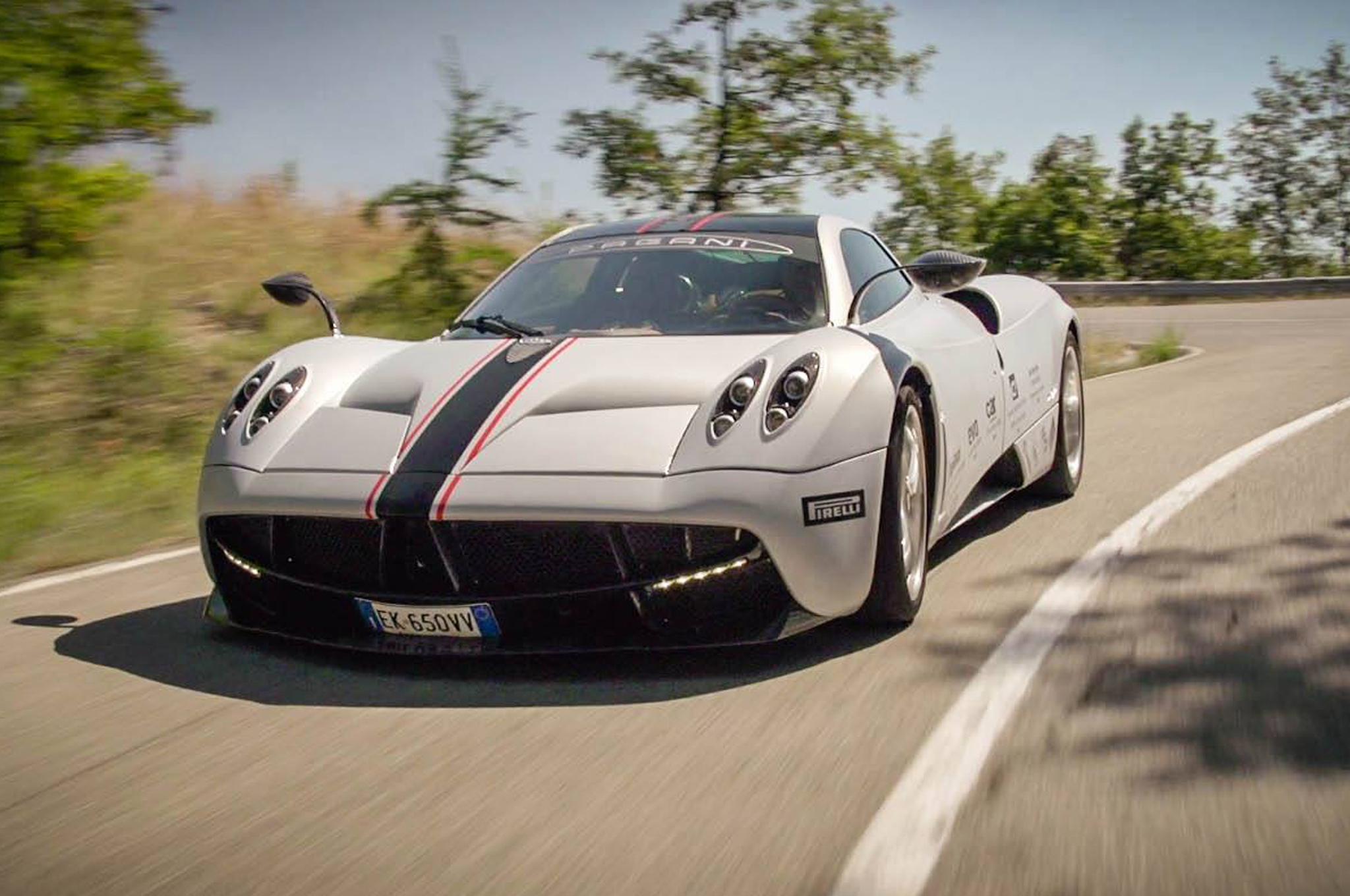 road-testing the pagani huayra on ignition - motortrend