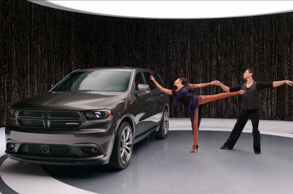 Video: Ron Burgundy Chases Off Dancers In New 2014 Dodge Durango