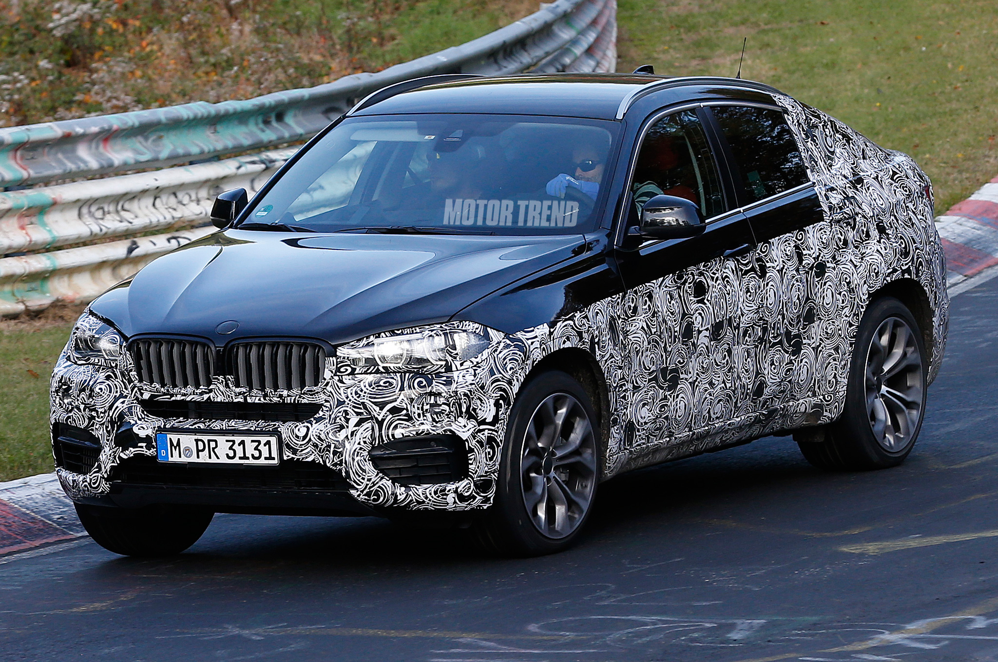 Spied: Next Gen BMW X6 Gets Wrung Out On The U0027Ring
