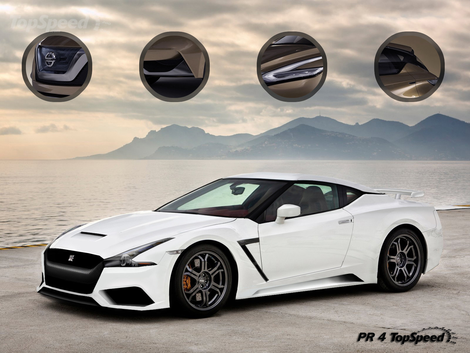Rendered: Could the 2016 Nissan GT-R Look Like This? - Motor Trend