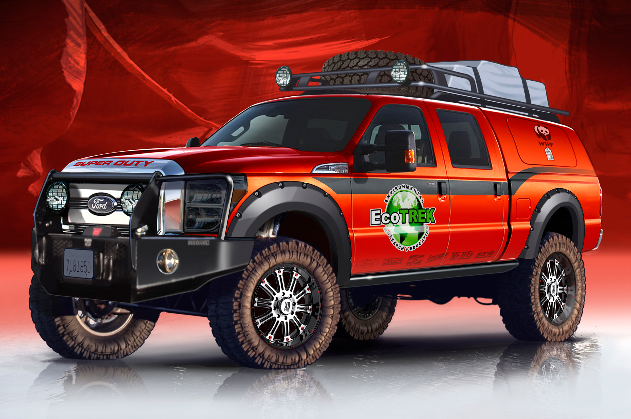 Ford F-Series Prepped for Dirt or Speed at 2013 SEMA Show