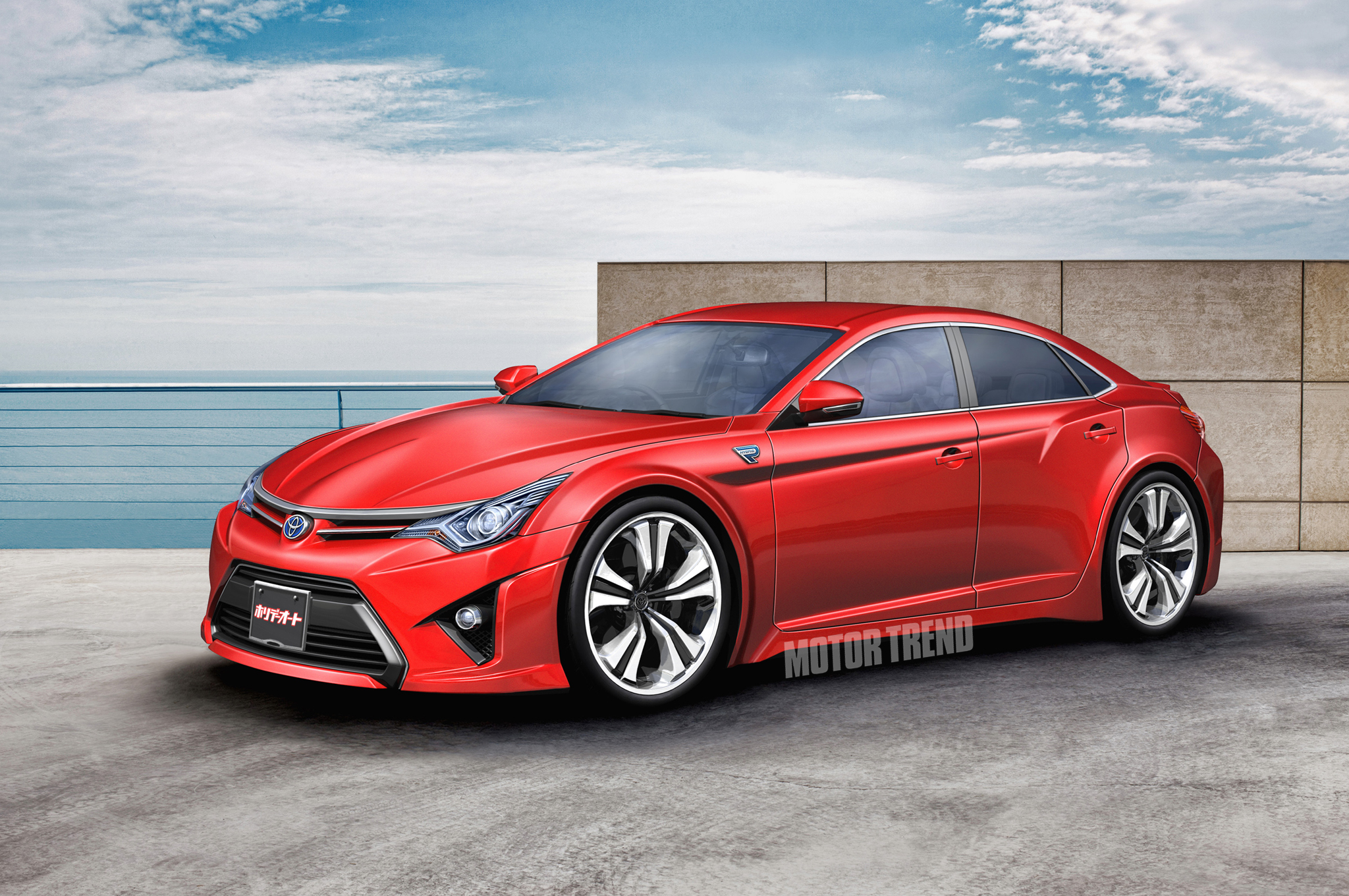 Scion FR-S Sedan in Toyota's Pipeline