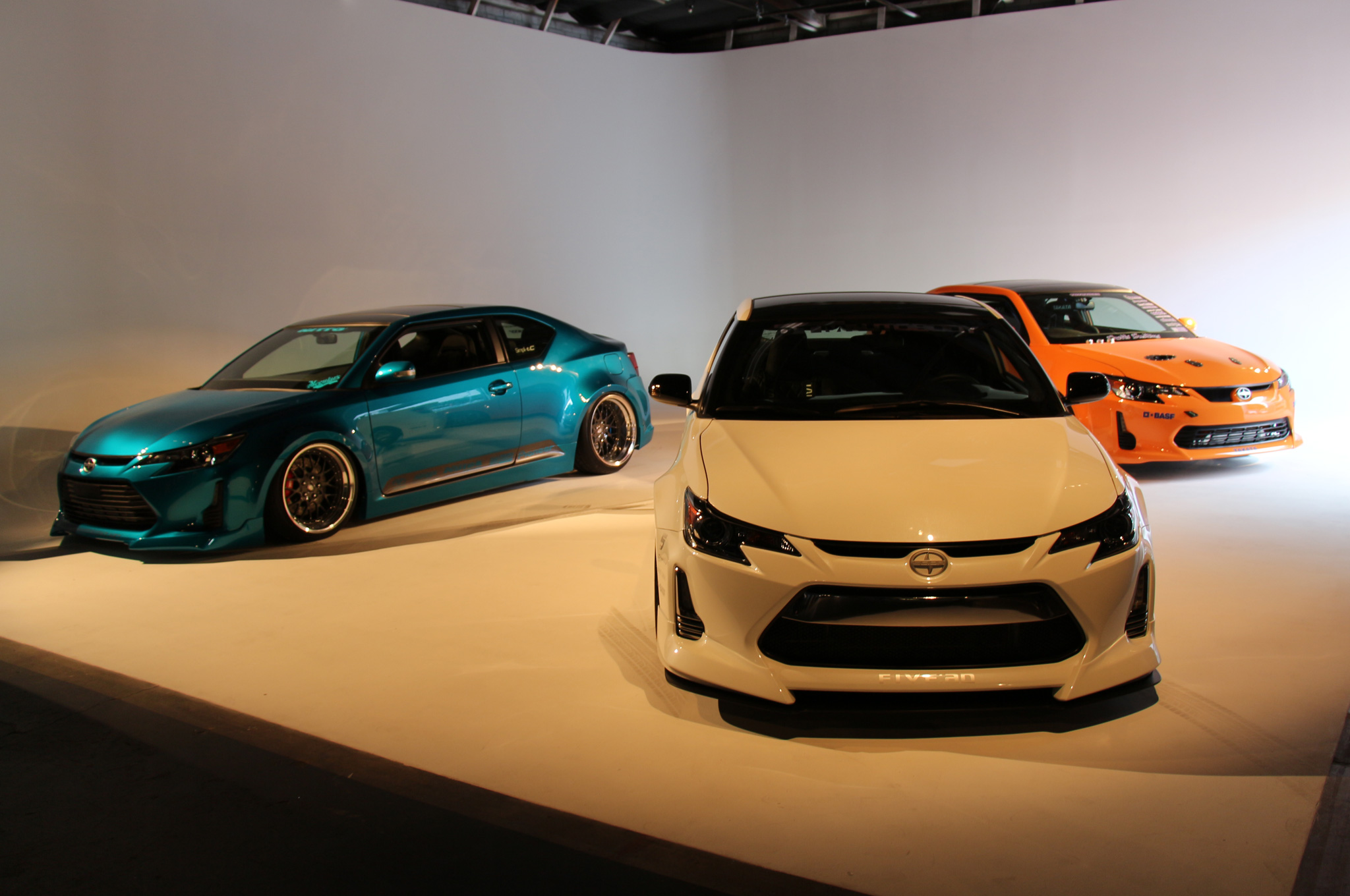 Scion Tuner Challenge tC Coupes SEMA Show Cars Debut Motor Trend