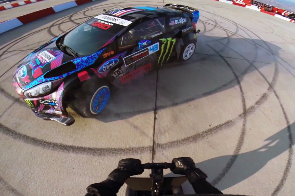 Need for Speed: Ken Block's Gymkhana Six in the Ultimate Grid Course