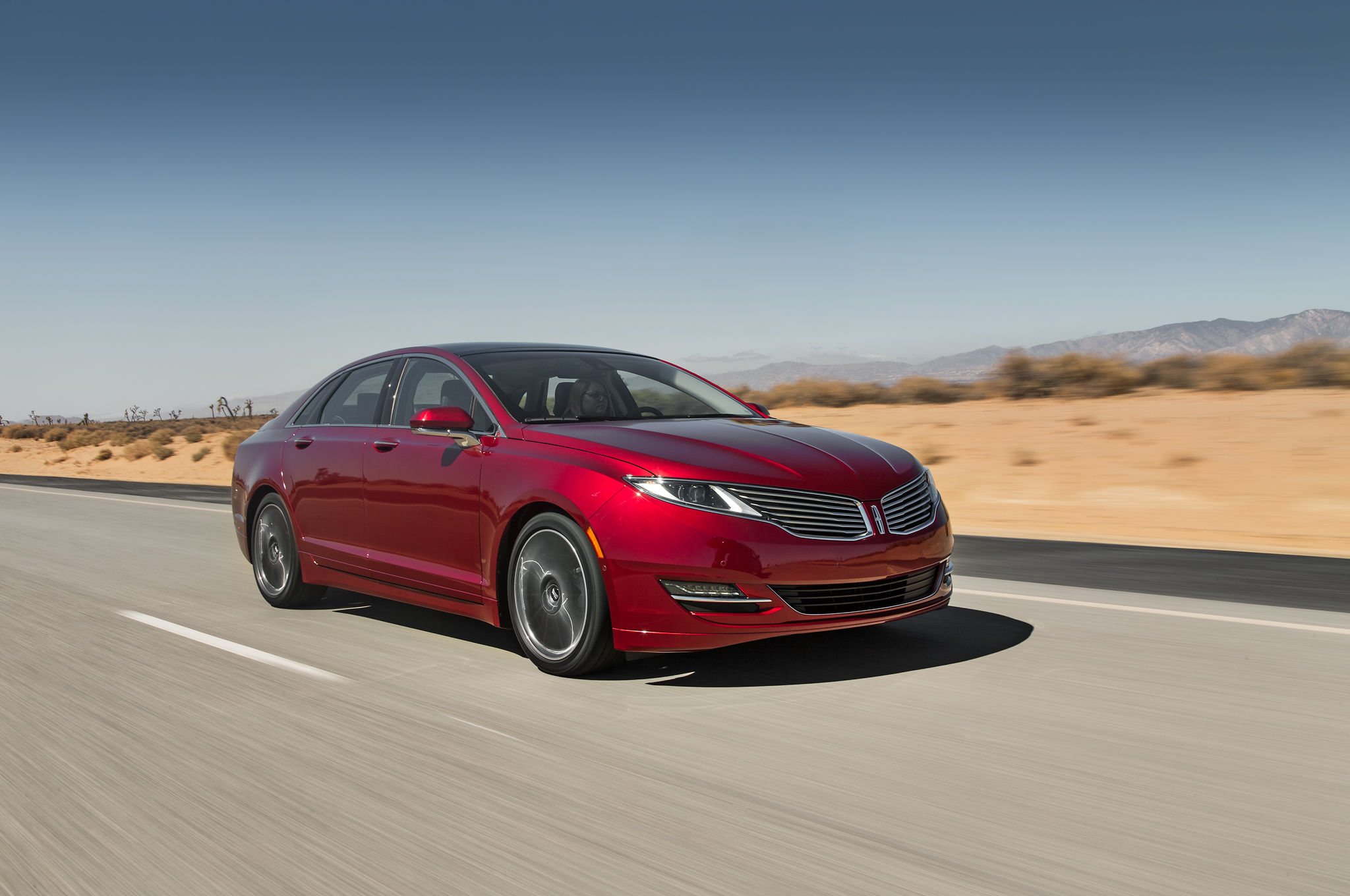 2014 Motor Trend Car of the Year Contender Lincoln MKZ Motor Trend