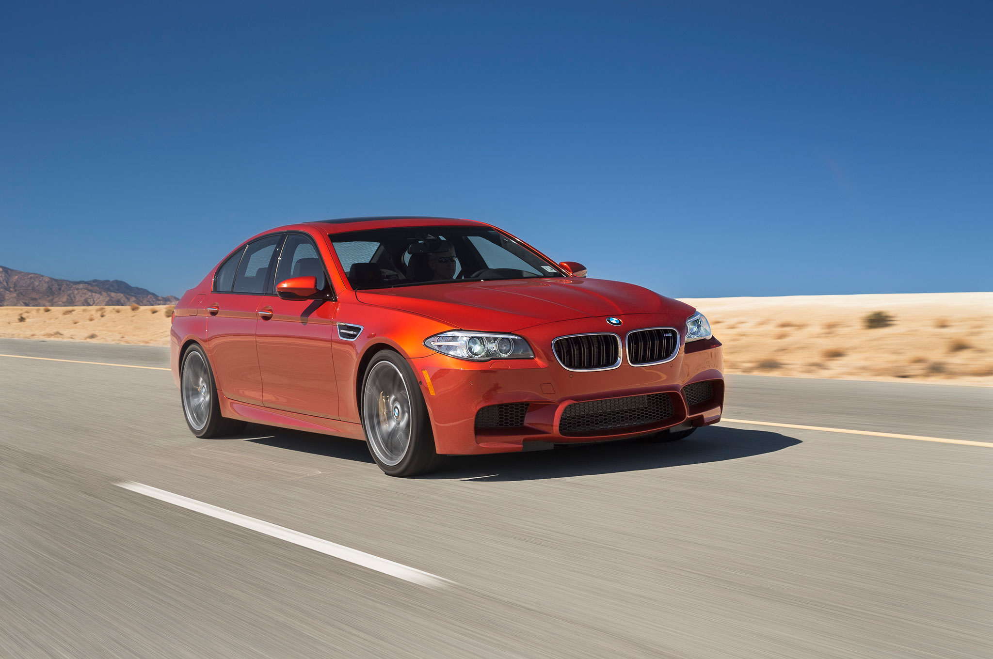 2014 Motor Trend Car of the Year Contender BMW 5 Series Motor Trend