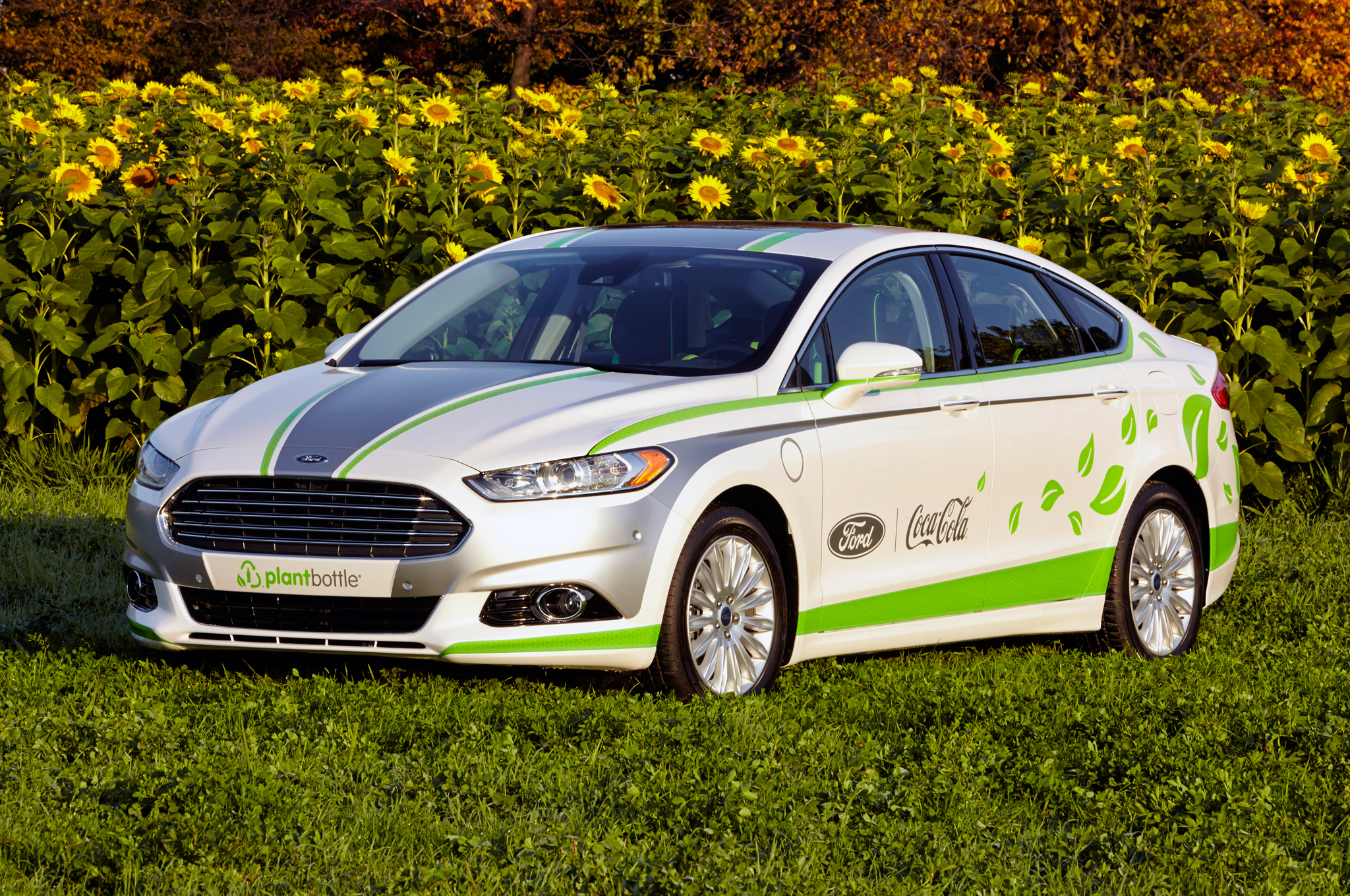 Ford, Coca-Cola Build Fusion Energi With Plant-Based Fabric Surfaces