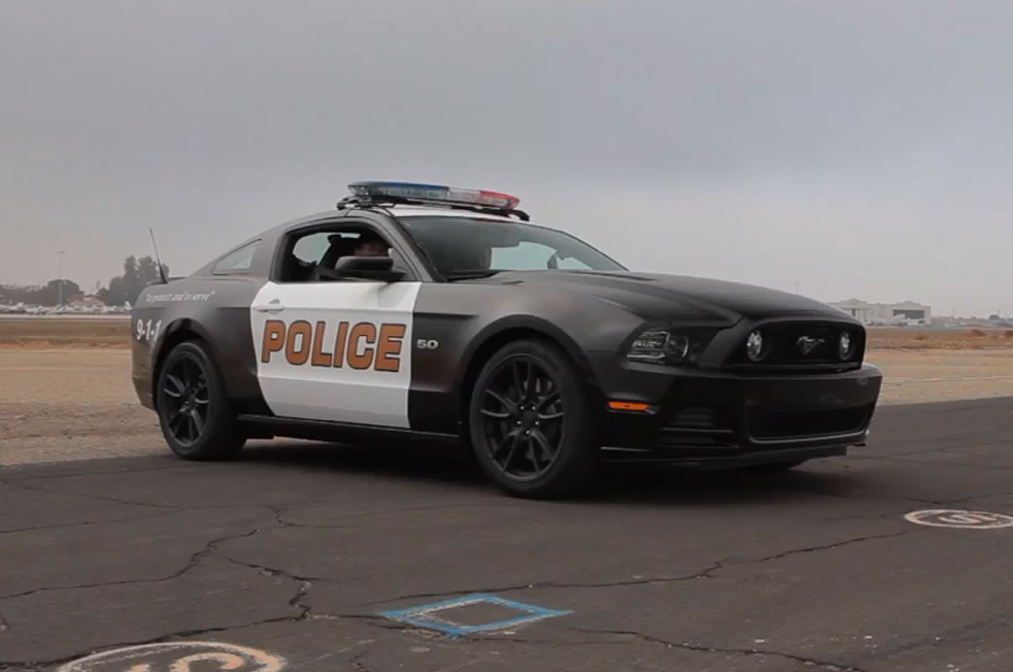 5-0! 2014 Ford Mustang GT Police Car on World's Fastest ...  Fastest Police Car In The World 2013