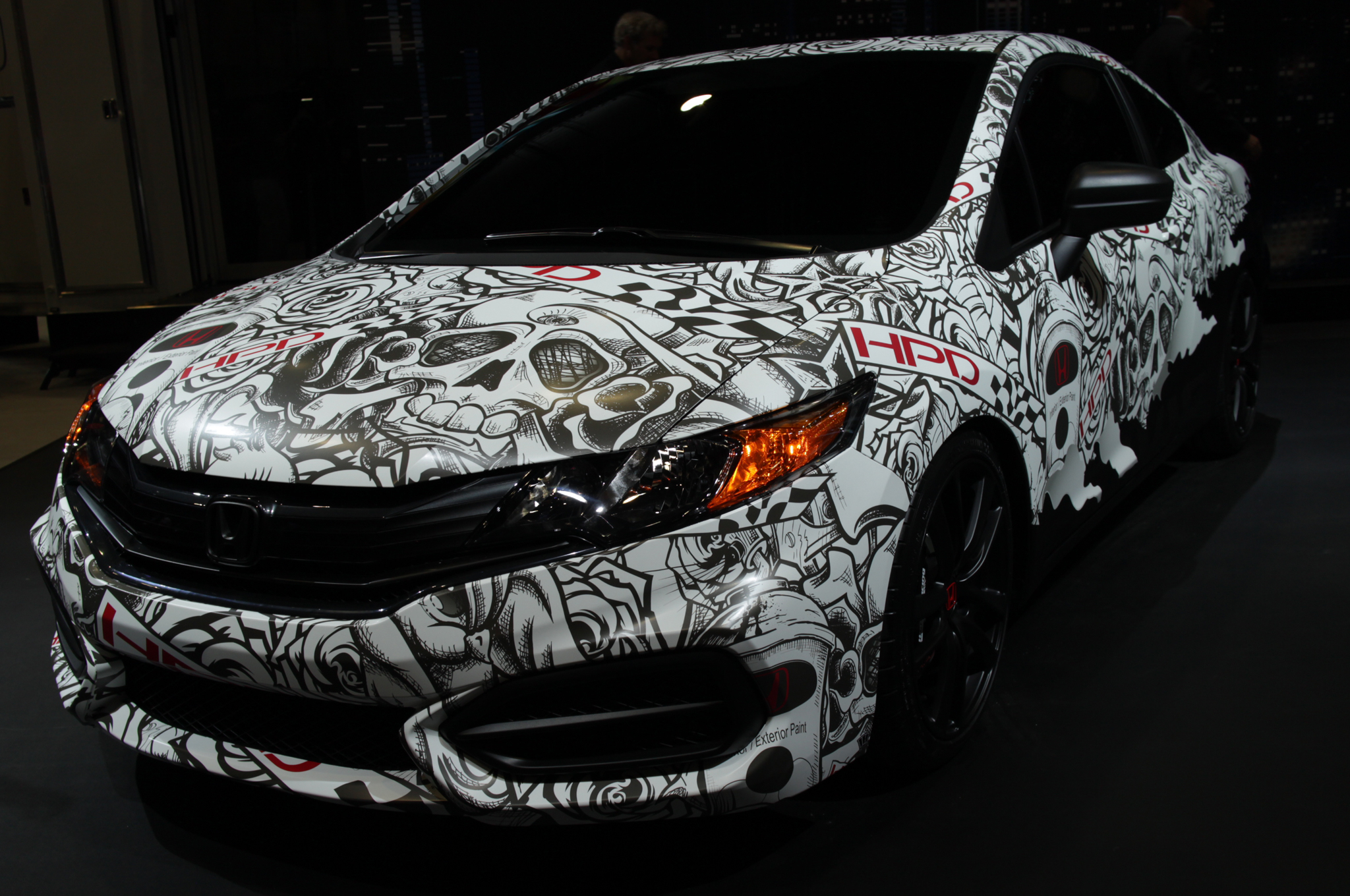 Modified 2014 Honda Civic Coupes Hit 2013 Sema Show