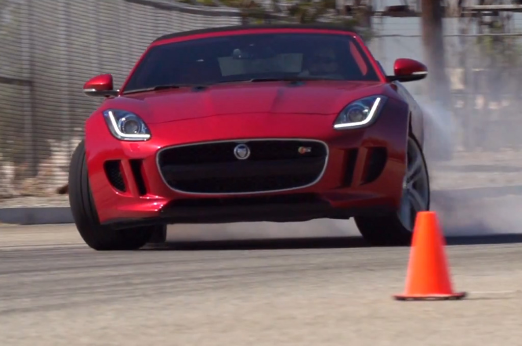 2014 Jaguar F-Type V8 S Roars on Ignition (W/Video)