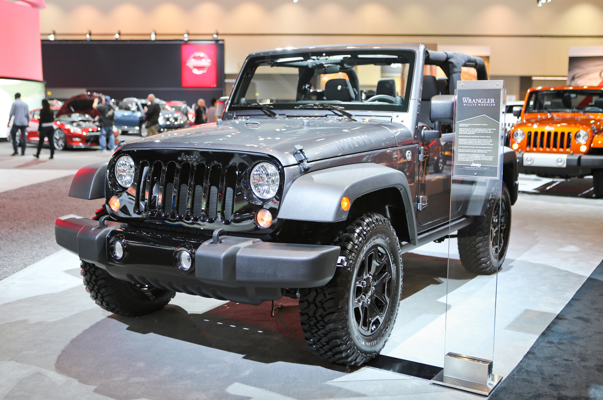 Great 2014 Jeep Wrangler Willys Wheeler Edition To Make Los Angeles Debut