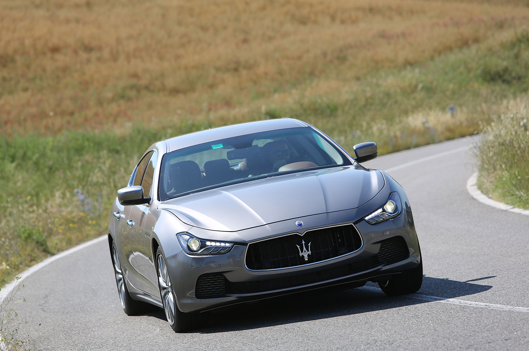 2014 Maserati Ghibli Named IIHS Top Safety Pick, Priced From $66,850