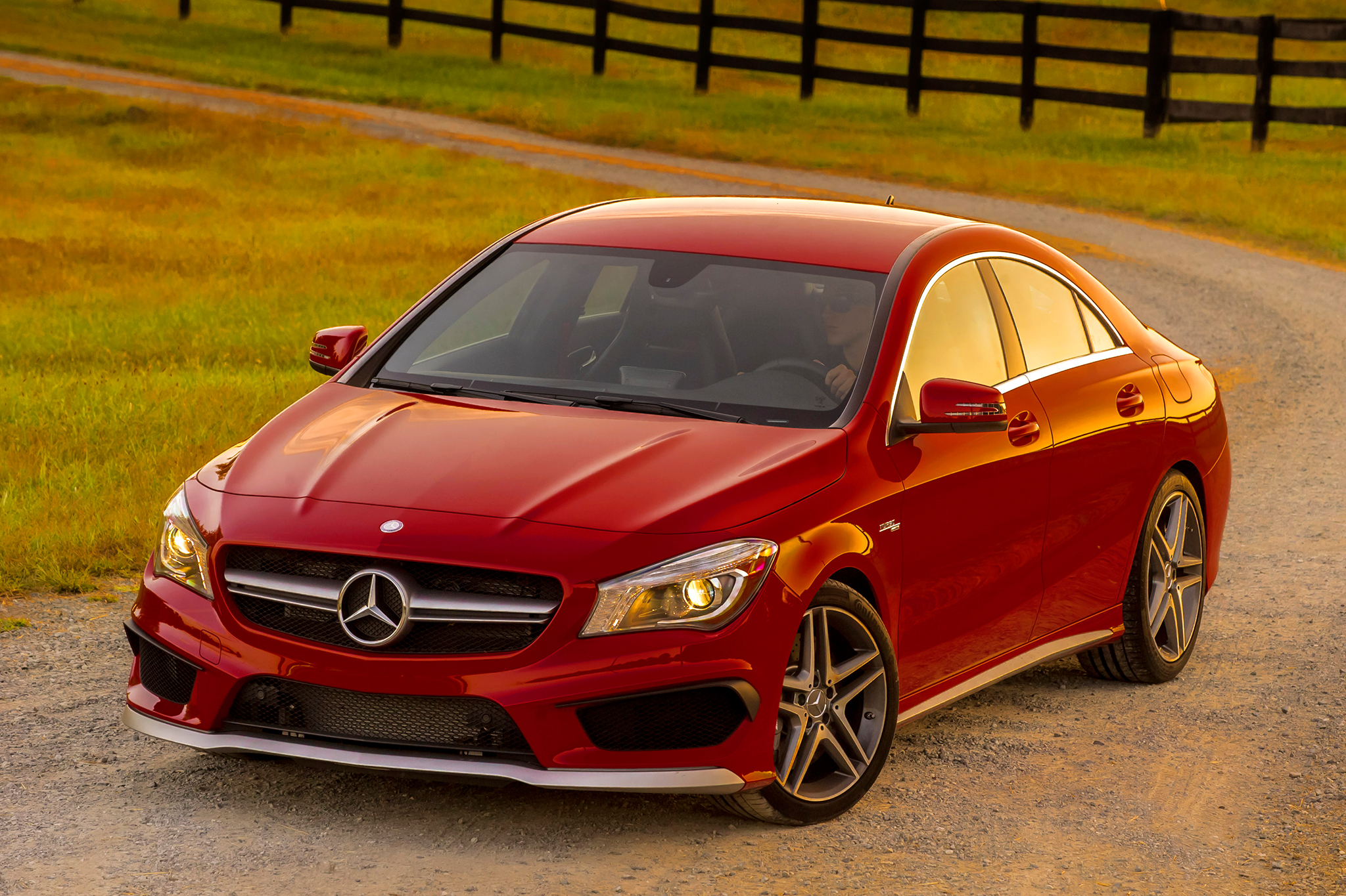 2014 Mercedes CLA45 AMG EPA-Rated 31 MPG, 0-60 MPH in 4.2 Seconds