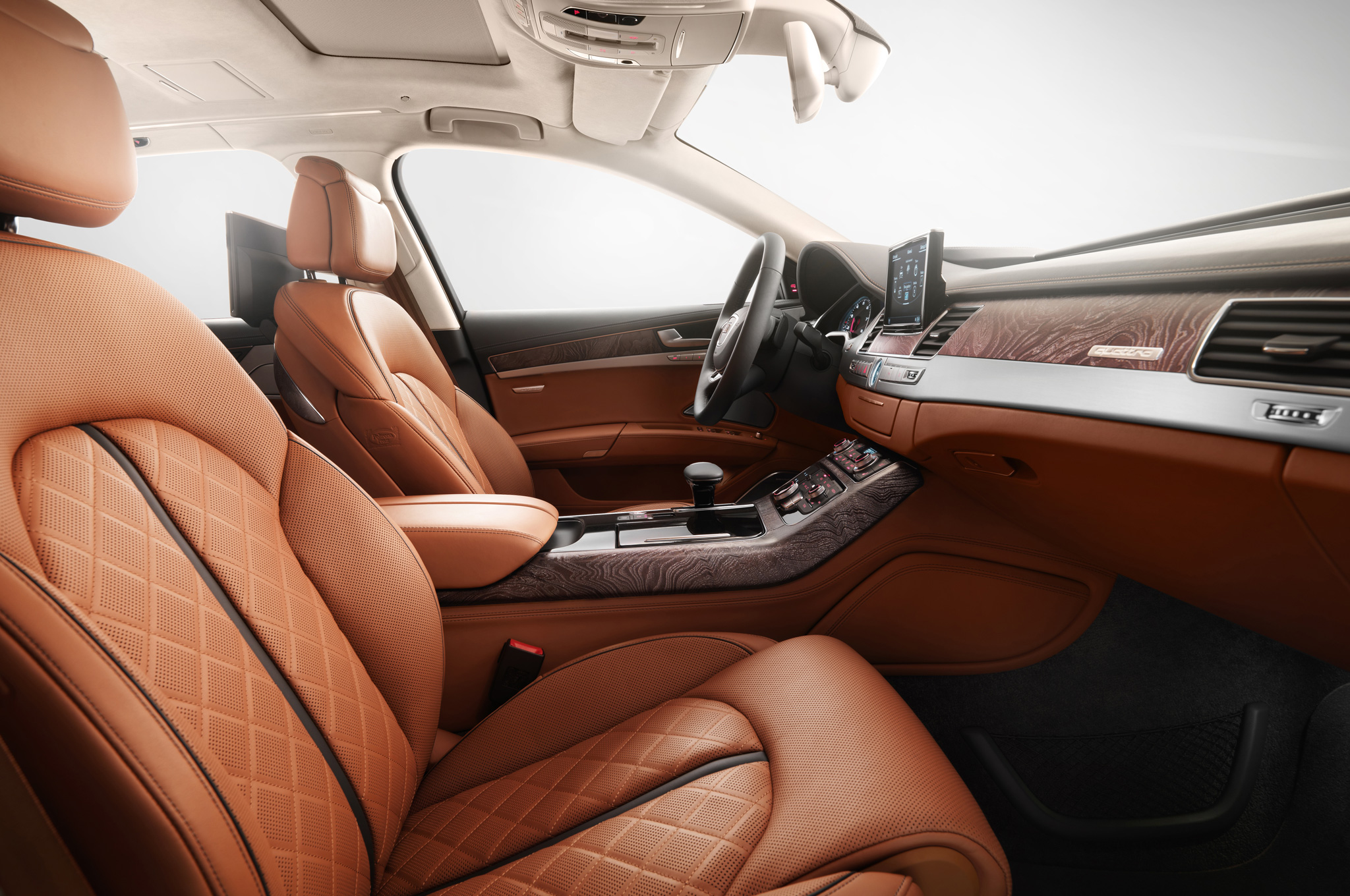 Ultra-Limited 2015 Audi A8 Exclusive Concept Gets Special Interior