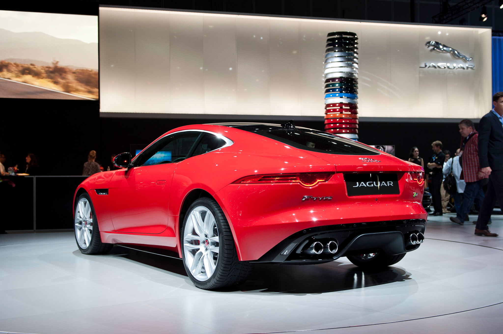 2015 Jaguar F Type Coupe First Look