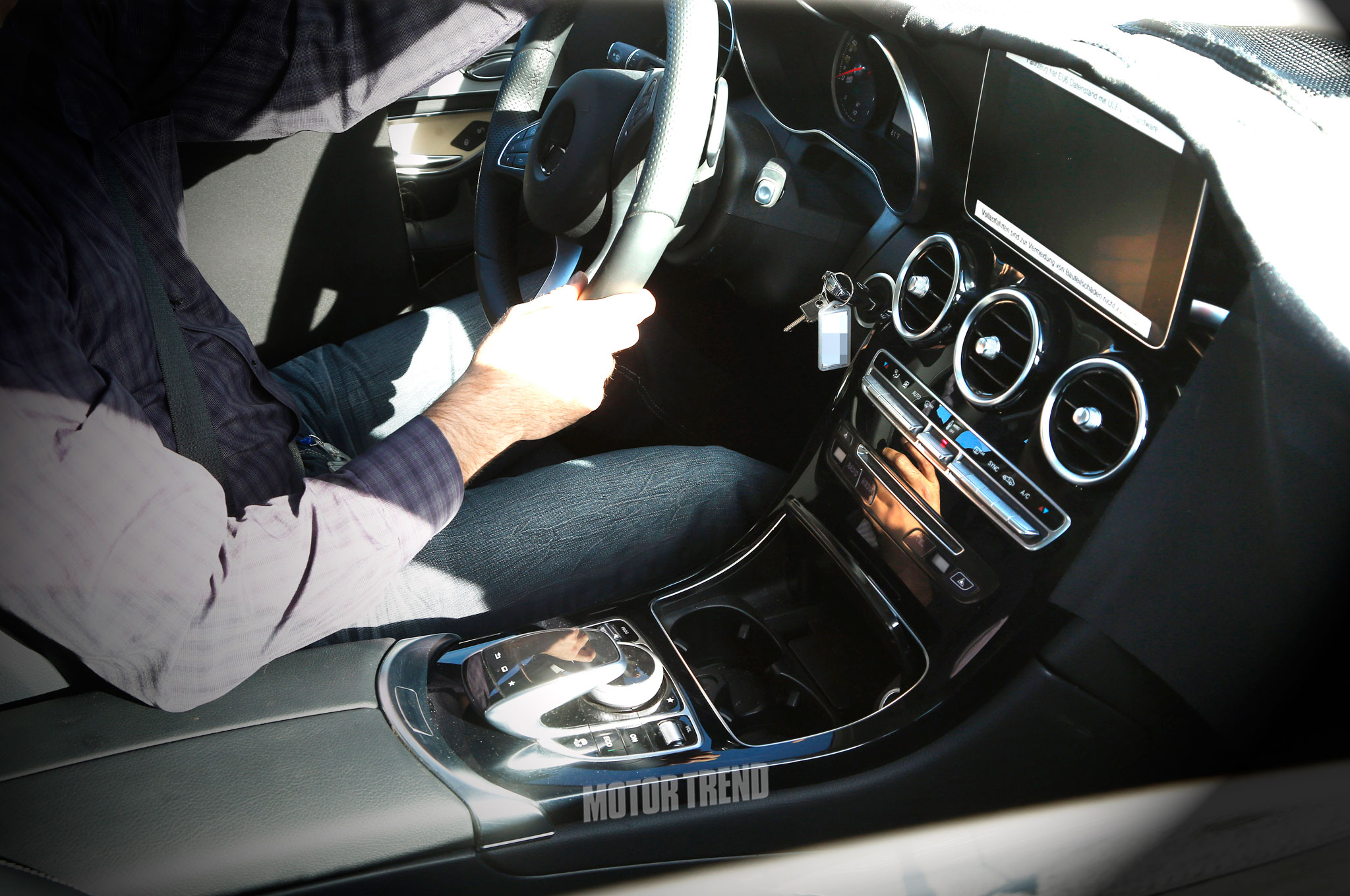 Spied: Next-Gen Mercedes-Benz GLK's Interior Gives us Deja Vu