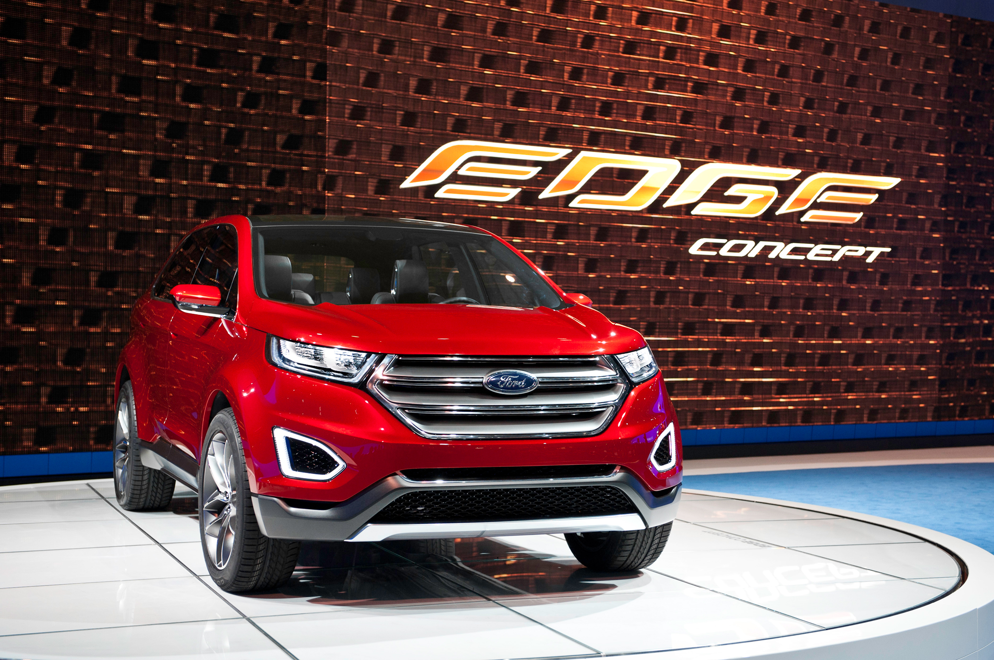 Ford Edge Concept First Look