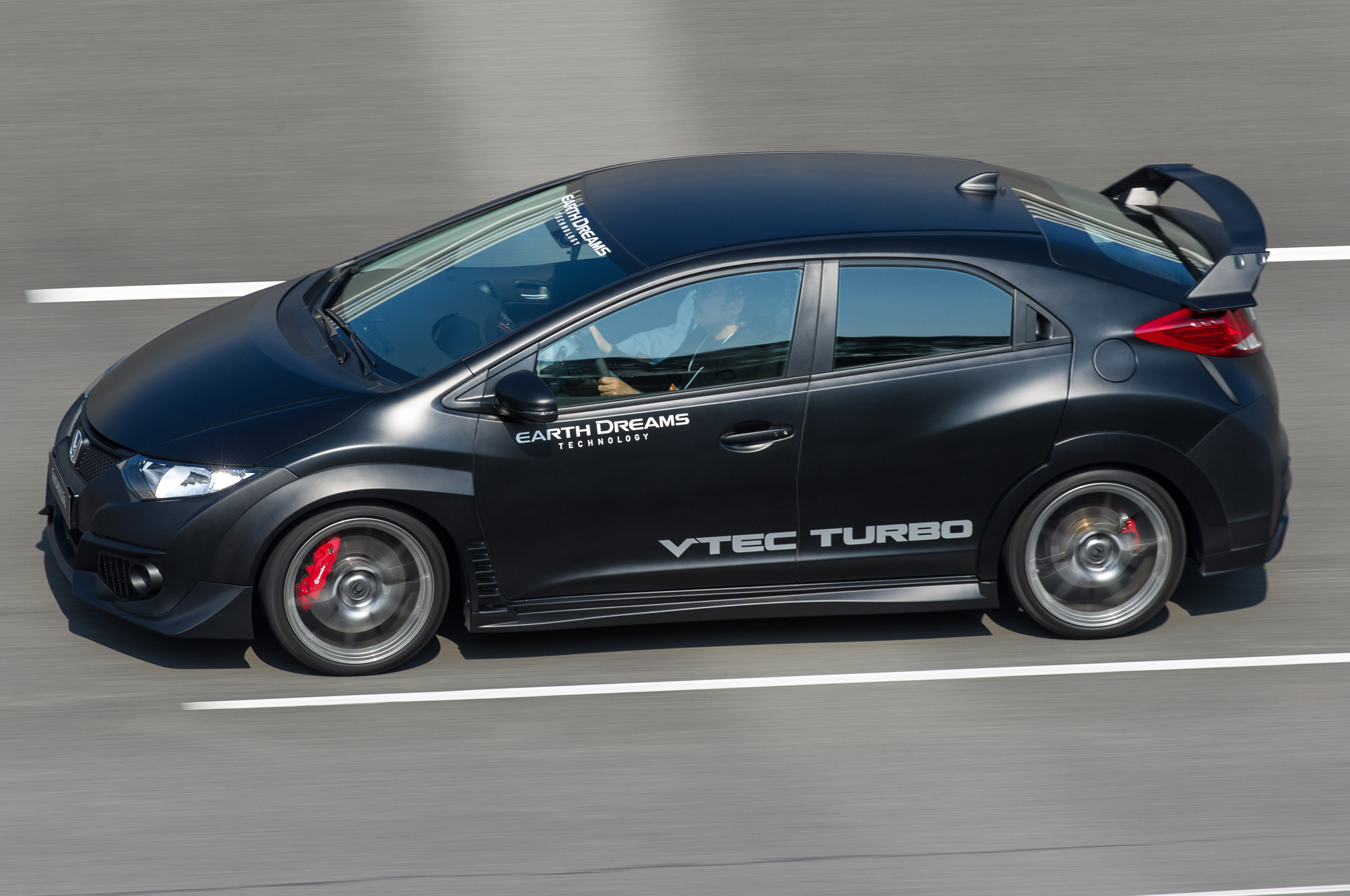 Honda Introduces 280-HP Turbo 2 0L I-4 Engine in Civic Type