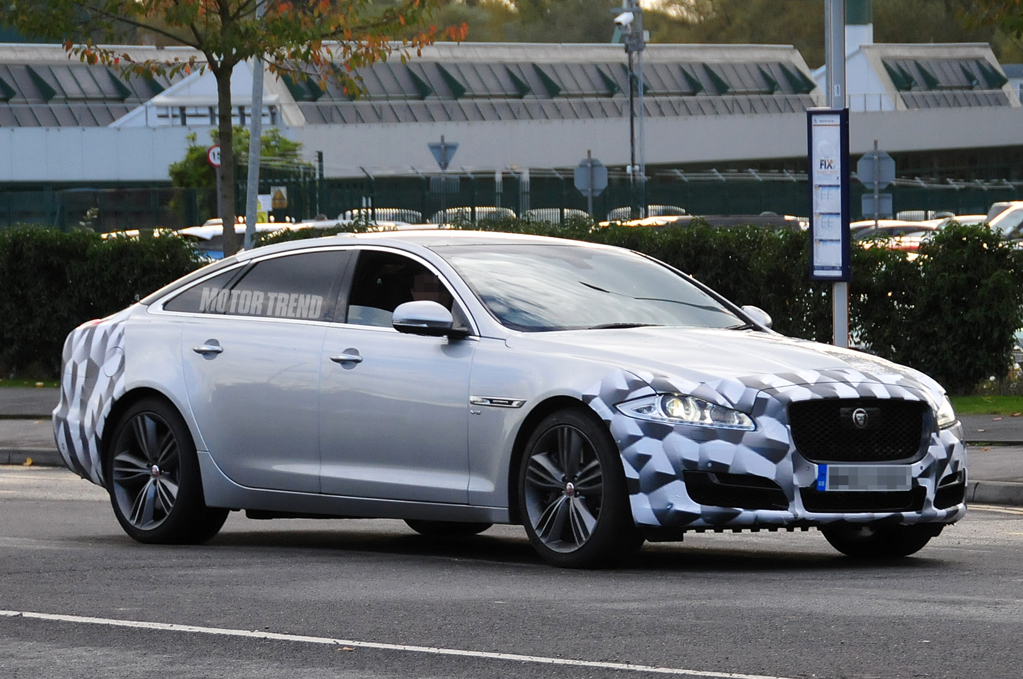 Spied: Refreshed Jaguar XJ Hides Face-Lifted Exterior